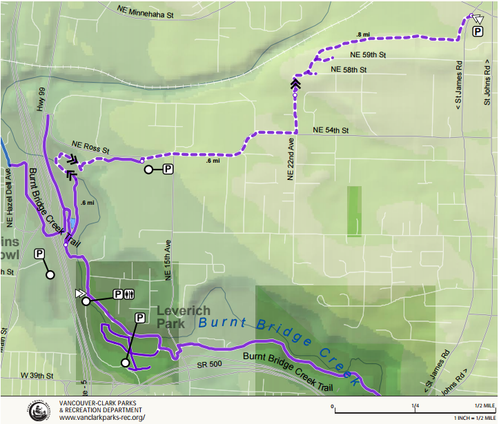 Ellen Davis Trail Map