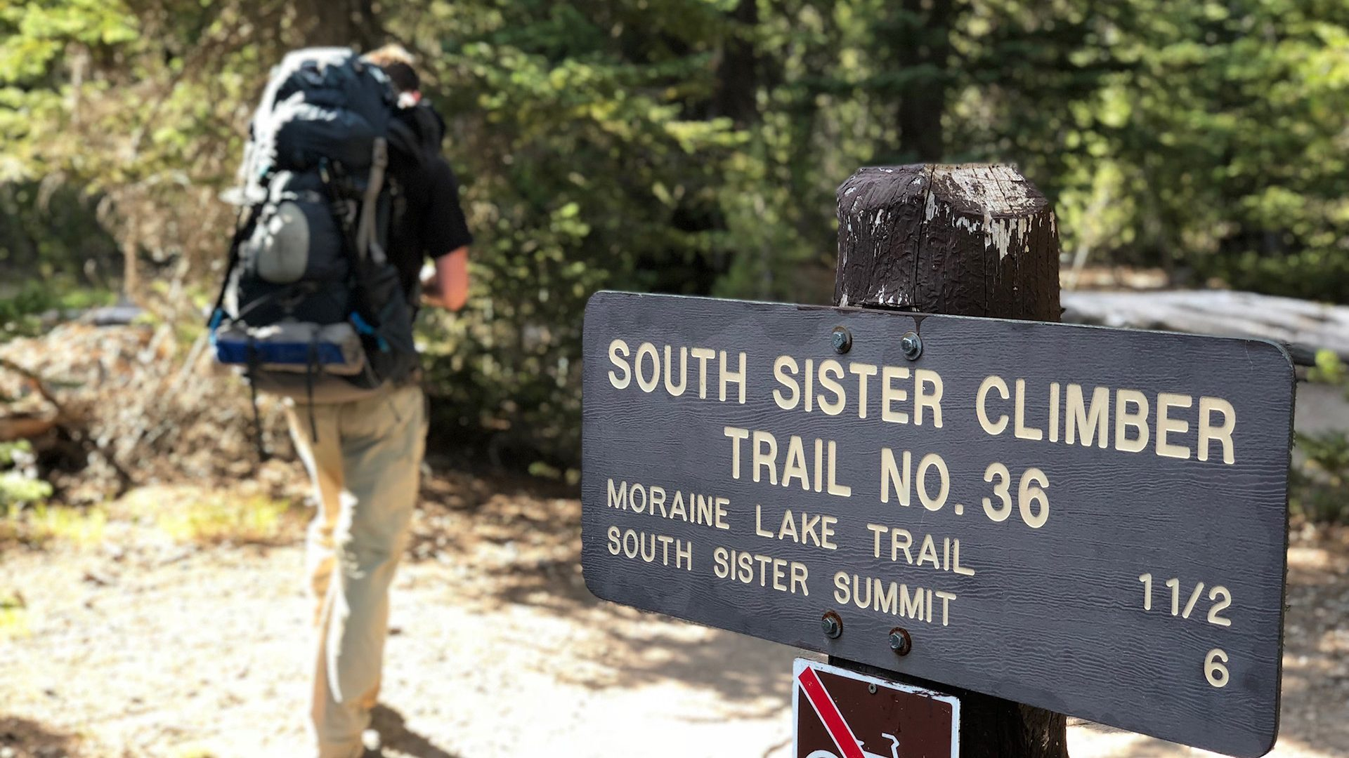 South Sister Climber Trail No. 36 - South Sister, Oregon
