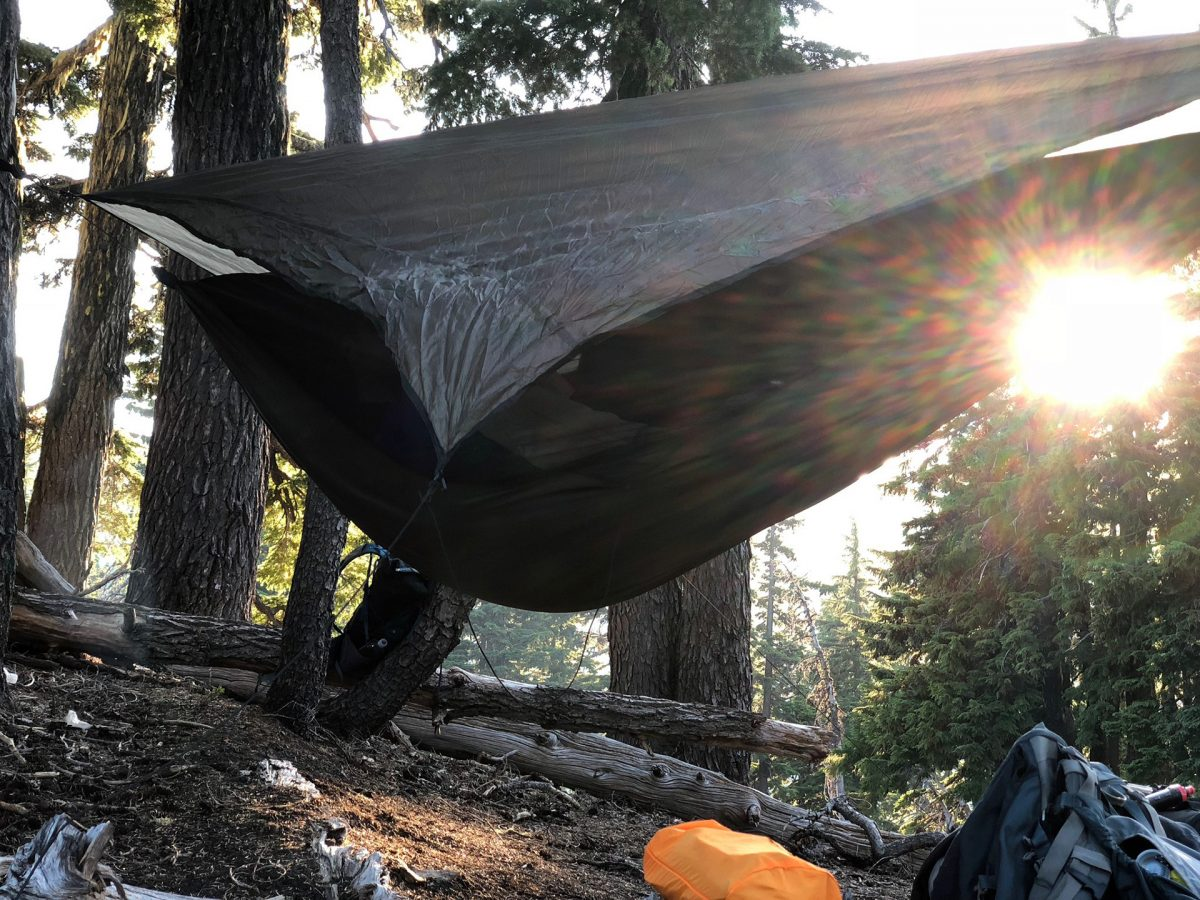 Hammock camping: Like you were never even there.