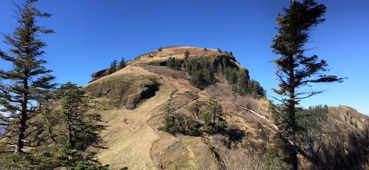 Hiking Saddle Mountain, Oregon