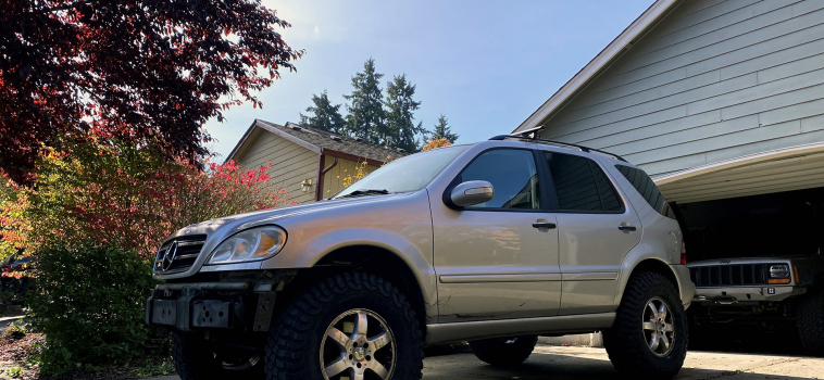Mercedes Benz ML500 Off-Road Build – Project Greta