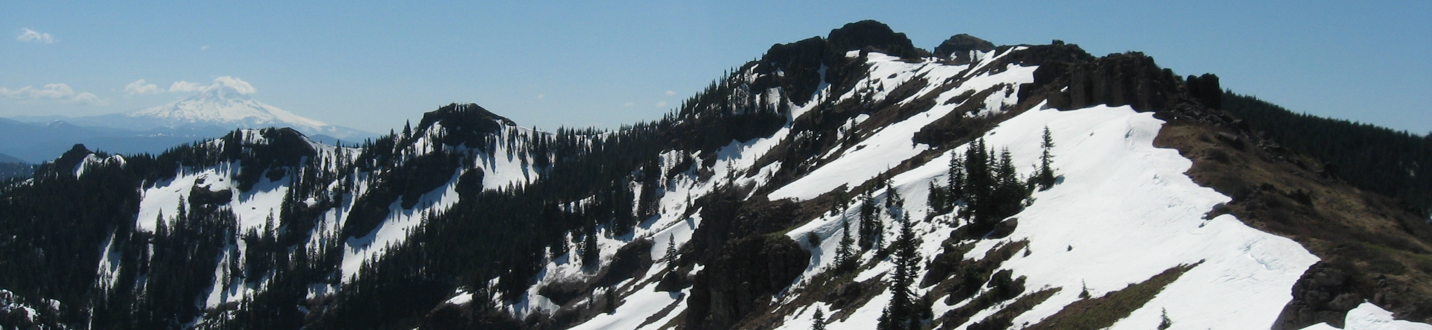 View from the Silver Star Trail - May 2013